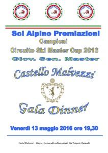 cena premiazioni 2016
